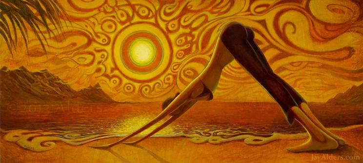 Tavaszköszöntő jógaóra, fókuszban a Napüdvözlet